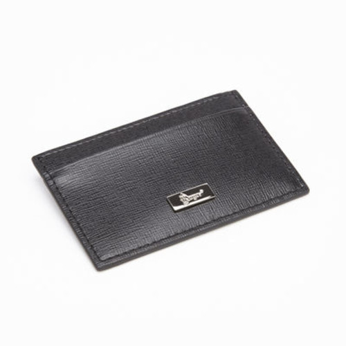 Royce Leather RFID Blocking Saffiano Leather Slim Card Case Wallet