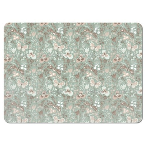 Tiny Garden Life Placemats (Set of 4) - Tiny Garden Life Placemat
