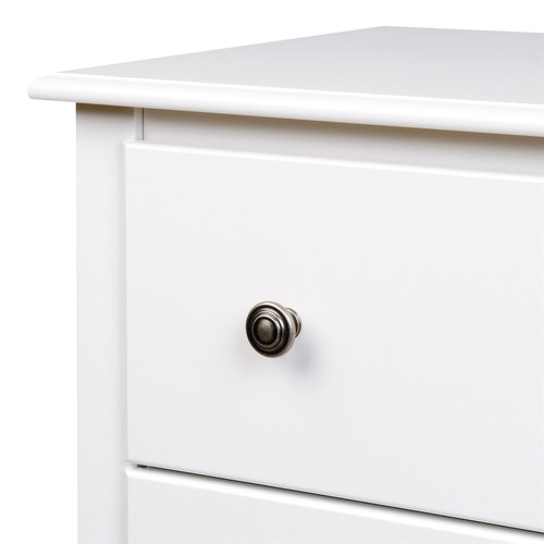 Prepac Furniture Monterey White Nightstand