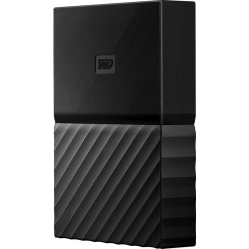 WD - My Passport Portable Gaming Storage for PS4 2TB External USB 3.0 Portable Hard Drive - Black