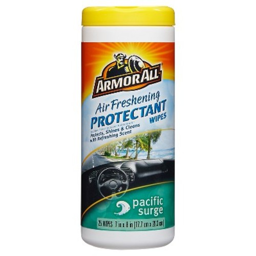 Armor All Air Freshening Protectant Wipes - Pacific Surge 25ct