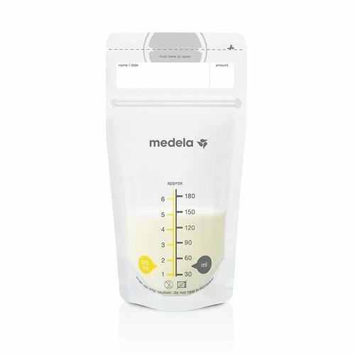 Medela Breast Milk Storage Bags, 50 Count : Baby [50 Count]