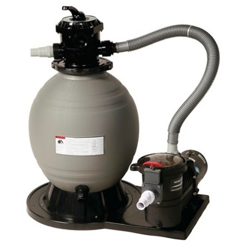 Blue Wave 18 in. Sand Filter System with 3600 GPH 1 HP Pump for Above Ground Pools
