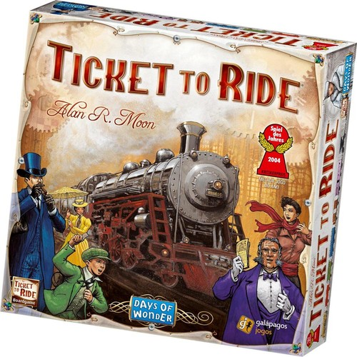 Days of Wonder - Ticket to Ride Board Game