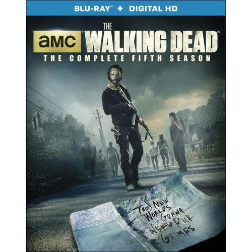 The Walking Dead: Season 5 [5 Discs] [With Digital Copy] [UltraViolet] [Blu-ray]
