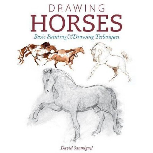 Drawing Horses: Basic Drawing and Painting Techniques (Paperback)