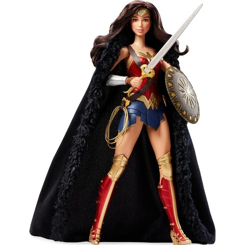 Barbie - Wonder Woman Doll - Red, Gold, Blue, Black