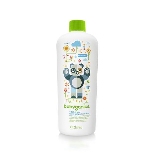 Babyganics Alcohol-Free Foaming Hand Sanitizer - 16 Ounce