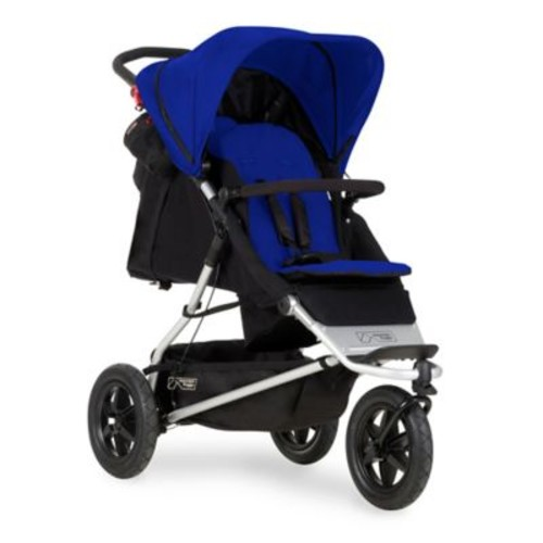 Mountain Buggy +one Inline Double Stroller in Marine