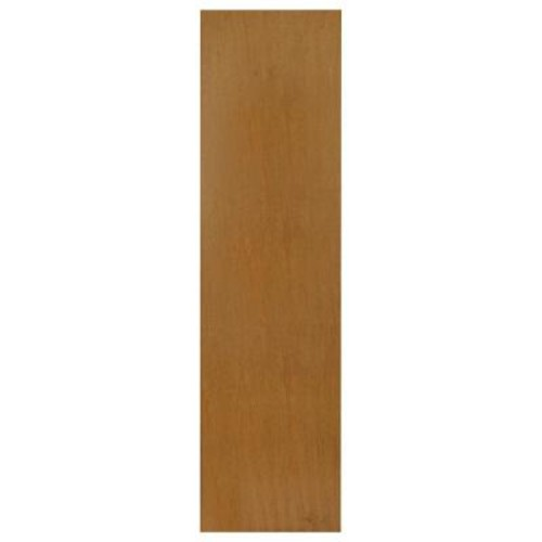 Hampton Bay 0.1875x42x11.25 in. Cabinet End Panel in Harvest