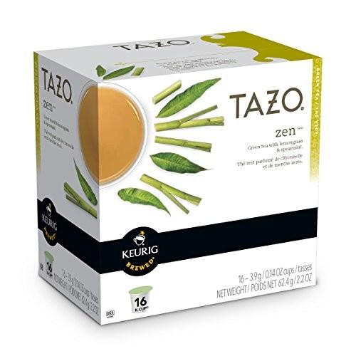 Tazo Zen Green Tea Keurig K-Cups, 16 Count [1]