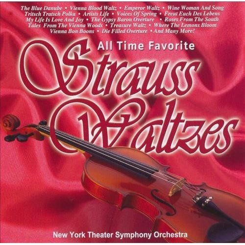 All Time Favorite Strauss Waltzes - Various - CD