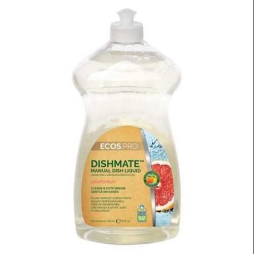 Earth Friendly Products PL9722/12 Liquid Dish Detergent, 25 oz., Grapefruit