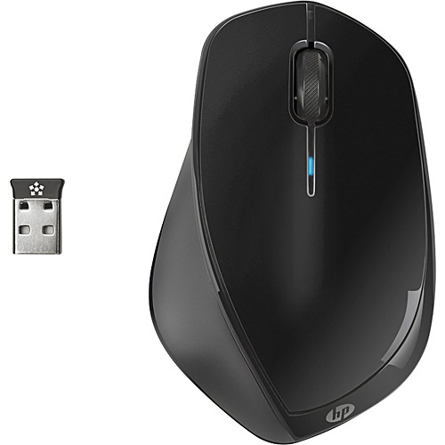 HP - Wireless Laser Mouse - Black