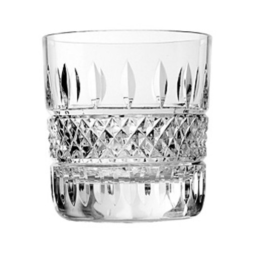 Waterford Irish Lace Set of 2 Double Old Fashioned Glasses