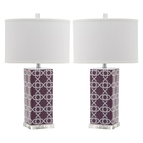 Quatrefoil Table Lamp - Safavieh