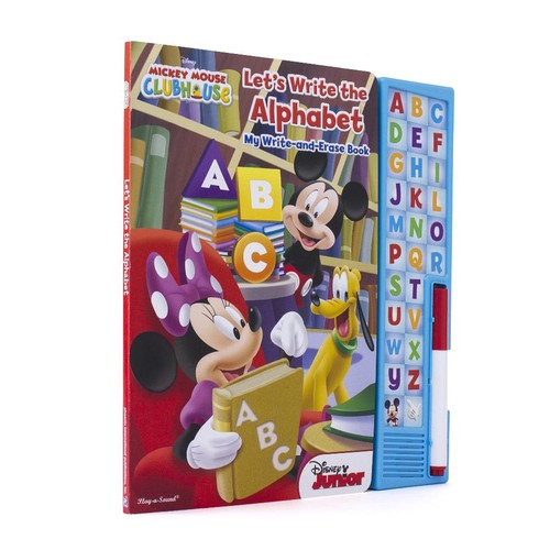 Disney Junior Mickey Mouse Clubhouse Let's Write the Alphabet My Write-and-Erase Sound Book