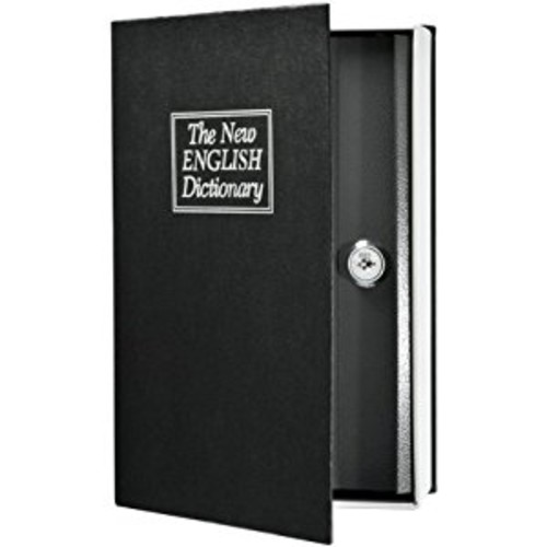 Barska Hidden Dictionary Book Safe with Key, AX11680