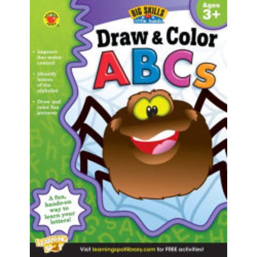 Draw & Color ABCs Workbook, Grades Preschool - K