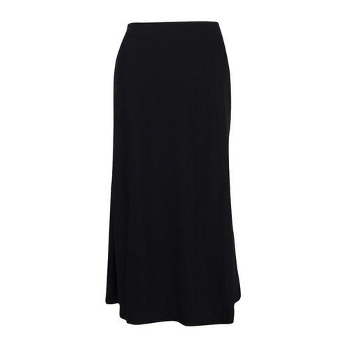 Lauren Ralph Lauren Women's Midi Skirt (10, Black) - Black - 10