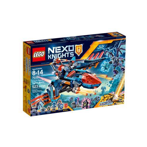 LEGO NEXO KNIGHTS Clay's Falcon Fighter Blaster #70351