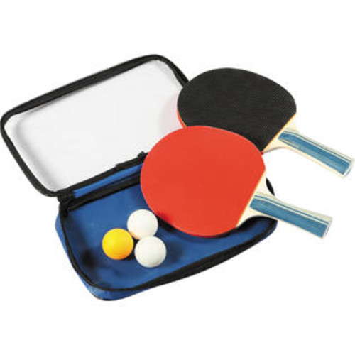 Carmelli Dual Player Control Spin Table Tennis Racket & Ball Set