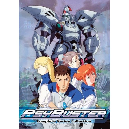 Psybuster: The Complete Series Collection [4 Discs] [DVD]