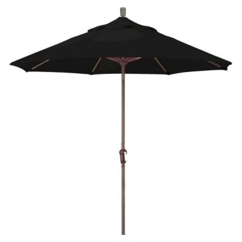 9' Aluminum Auto Tilt Crank Patio Umbrella - Pacifica