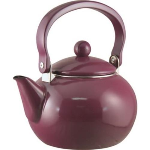 Reston Lloyd Calypso Basic 2 Qt. Harvest Tea Kettle; Plum