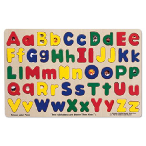 Melissa & Doug Alphabet Sound Puzzle Set