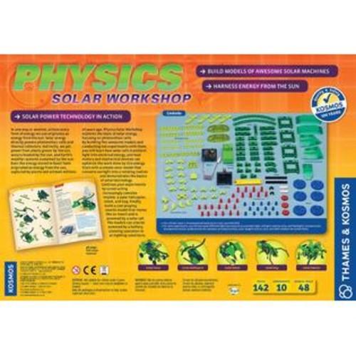 Thames & Kosmos, Thames u0026 Kosmos Physics Solar Workshop Version 2.0 Experiment Kit - 142 Piece