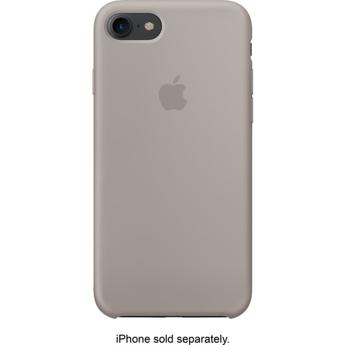 Apple - iPhone 7 Silicone Case - Pebble