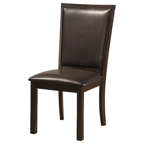 Alpine Furniture Kitchen & Dining Room Chairs Alpine Davenport Set of 2 Dining Chairs