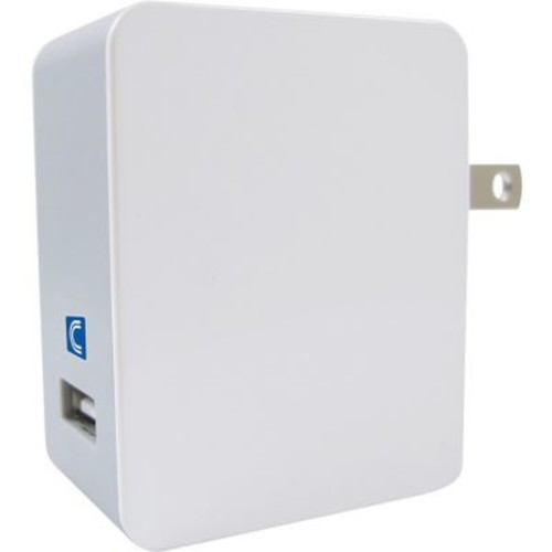 Comprehensive Wall Charger for Smartphone, USB, White (CPWR-QC)