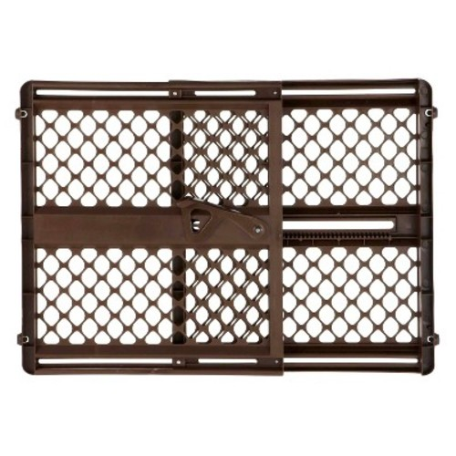 North States Supergate Ergo Espresso Baby Gate