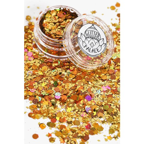 Glitter Palace Tiger Glitter Pot