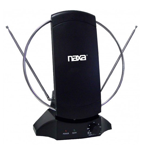 Naxa 97086480M High Powered Amplified Antenna Suitable For HDTV and ATSC Digital Television