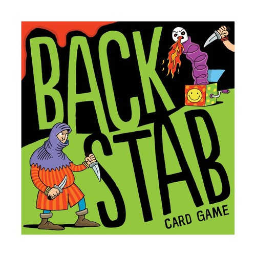 Backstab Card Game by U.S. Games Systems