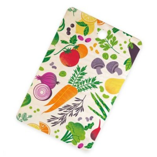 Deny Designs Eat Your Fruits and Veggies Cutting Board