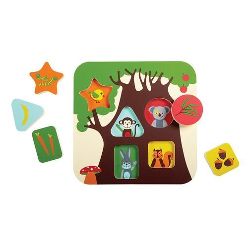 Edushape Treehouse Puzzle, 6 Piece