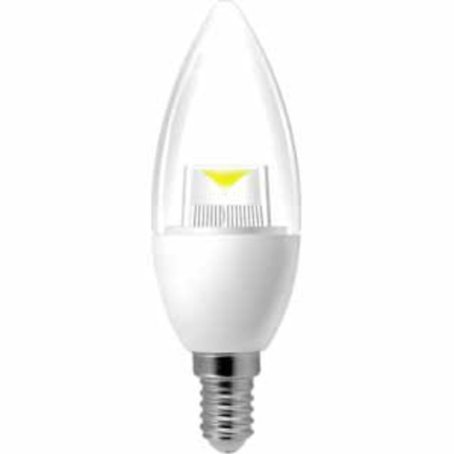 Inland ProHT LED Candle Light Light Bulb 5W/40W Dimmable - 6Pack