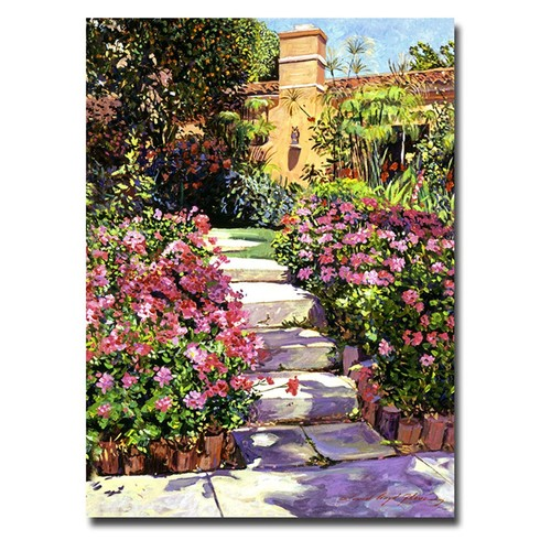 The Five Steps by David Lloyd Glover, 18x24-Inch Canvas Wall Art [18 by 24-Inch]
