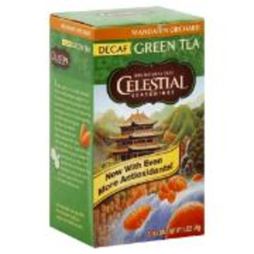 Celestial Seasonings Decaf Mandarin Orchard Green Tea (20 count)