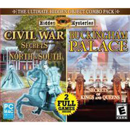 Encore JC Hidden Mysteries: Civil War/Buckingham Palace - PC/MAC CD-ROM