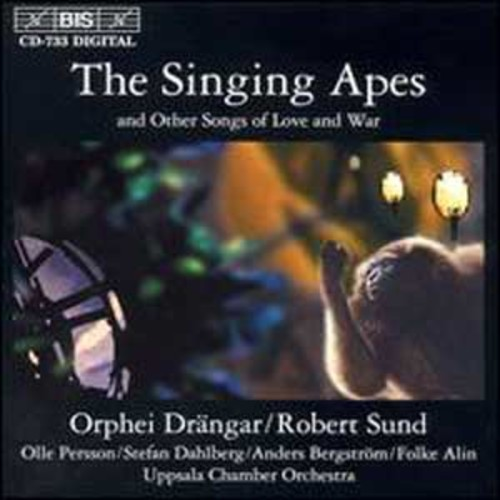 The Singing Apes & Other Songs of Love & War By Orphei Drngar (Audio CD)