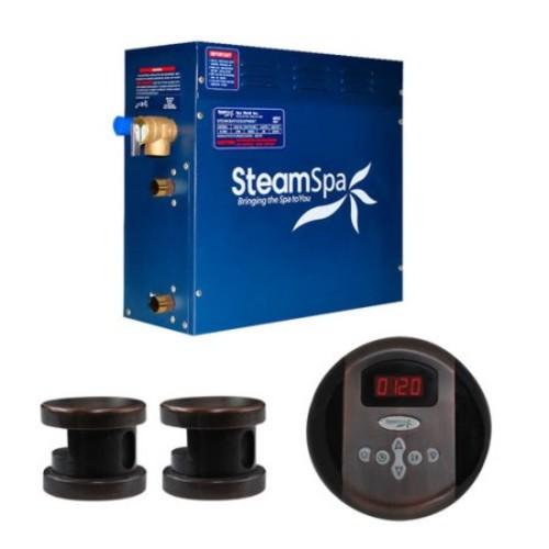 Steam Spa SteamSpa Oasis 12 KW QuickStart Steam Bath Generator Package in Oil Rubbed Bronze