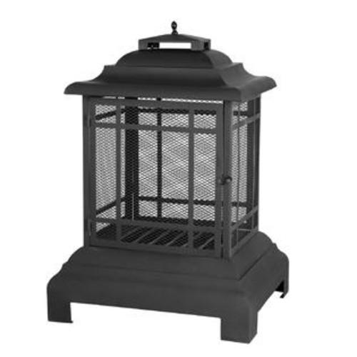 Fire Sense 02679 Rectangular Pagoda Patio Outdoor Fireplace
