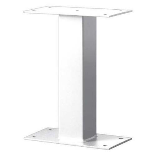 Salsbury Industries 4395WHT Standard Pedestal, White, 16 in. H