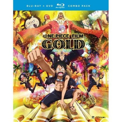 One Piece Film: Gold - Movie [Blu-Ray] [DVD]