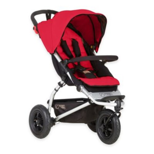 Mountain Buggy Swift Compact Stroller in Berry